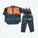 Costum de protectie pentru lucrul cu motofierastraul